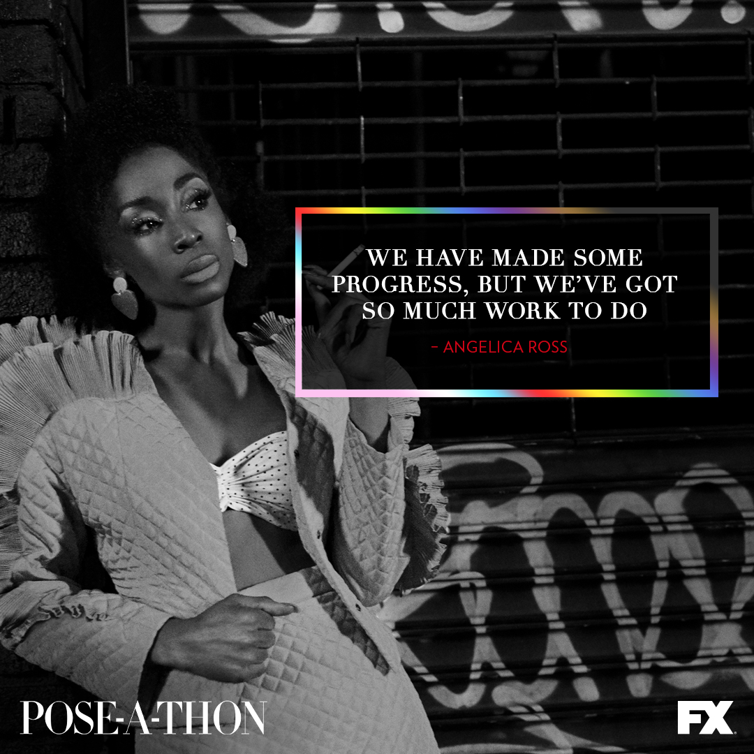 The Category Is…Streaming Now! Watch our #PoseAThon for Pride 🏳️🌈on PoseAThon.com.