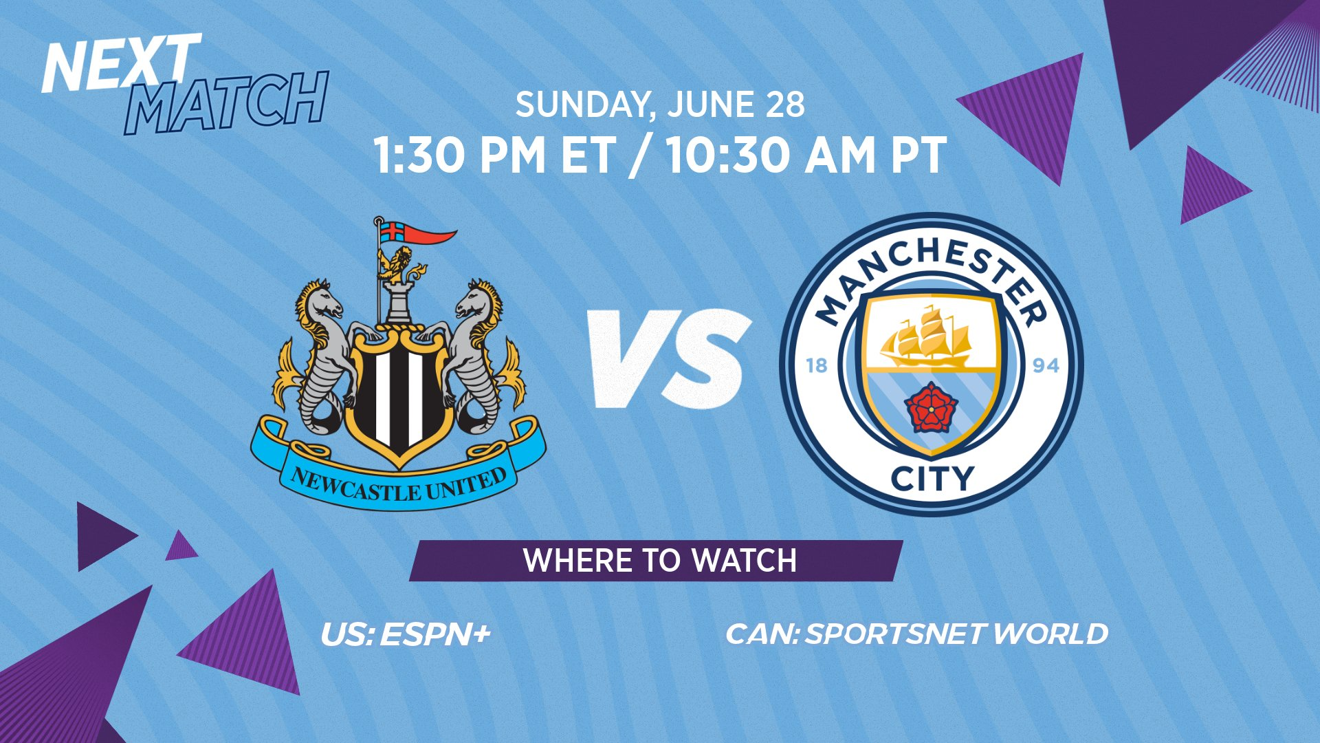 Manchester City Us On Twitter Here Are The Details For The Next Step In Our Facup Defense On Sunday Quarterfinals Time 1 30 Pm Et 10 30 Am Pt Espn