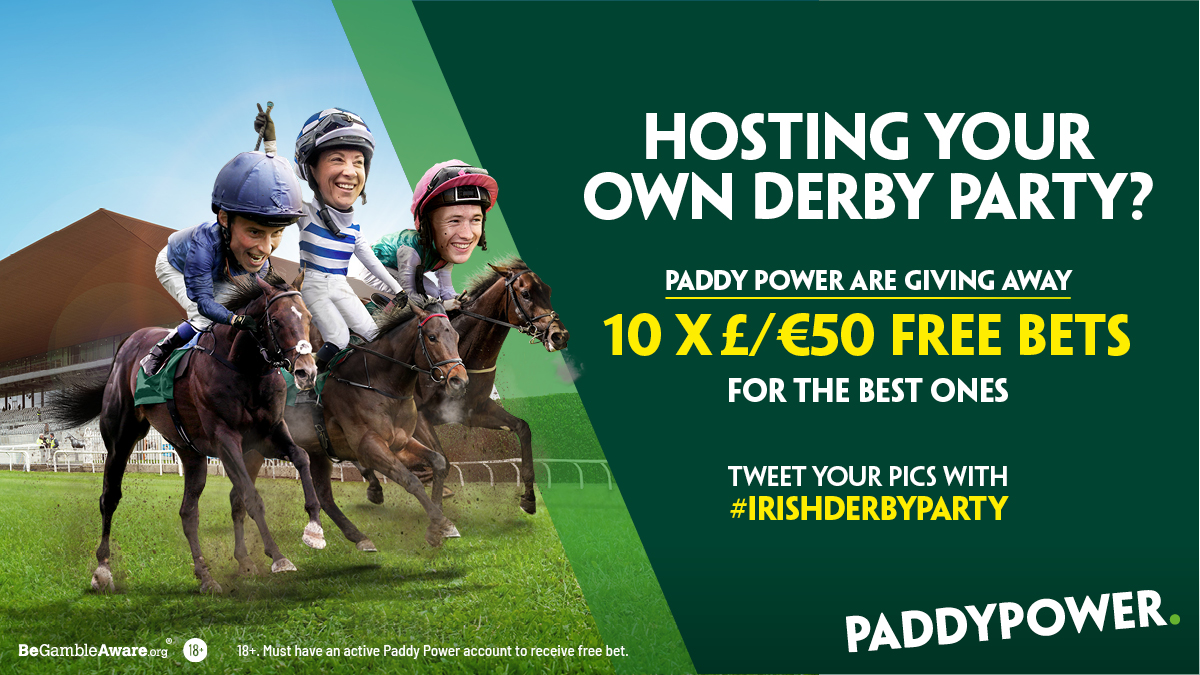 Paddy power irish derby betting at home financial spread betting millionaire club
