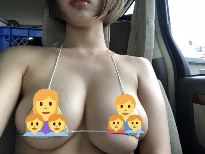 グラビアアイドル安位薫のTwitter自撮りエロ画像12