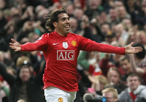 TEVEZ SAYS THAT UNITED ARE A CLUB OF HIS HEART