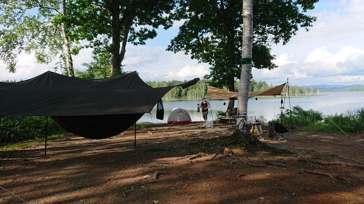 キャンプ 朱鞠内 場 湖畔
