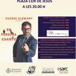 Image for the Tweet beginning: #Cultura #Manises Dissabte 27 de