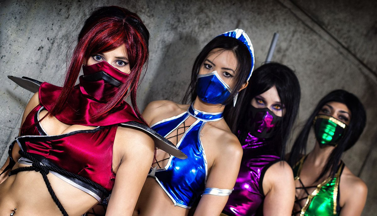 #COVID19 - time for Mortal Kombat #cosplay pic.twitter.com/7cphX2lMoV