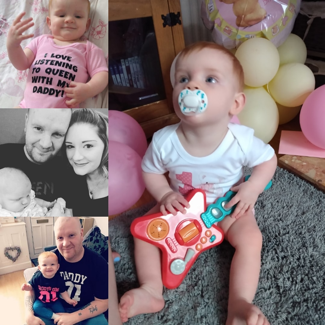 A Happy first birthday to my biggest achievement in life  My baby girl Jaycee  I love you so much  This year will be remembered for lots of things but for me it's all about you  Happy birthday baby   #happybirthday #iloveyou #fanofqueen pic.twitter.com/DZK7wZlplQ