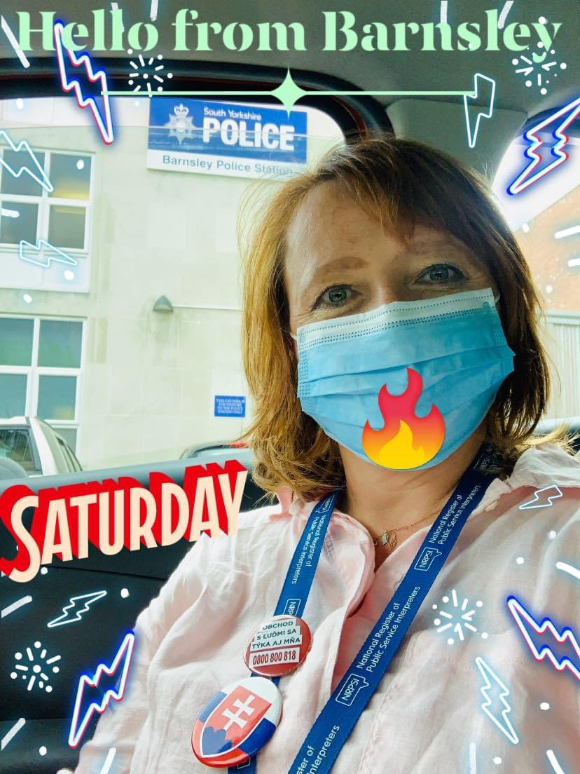 Saturday:tired #interpreter #mediator Today I wish I had more sleep as I dived into a lot of human  #suffering head first at 7am! Still at it this time #Barnsley Working with gentle giant police officer @syptweet with roots in #Fiji Amazing #justiceheroes World is small! #bekind https://t.co/kQqQjn3KN4