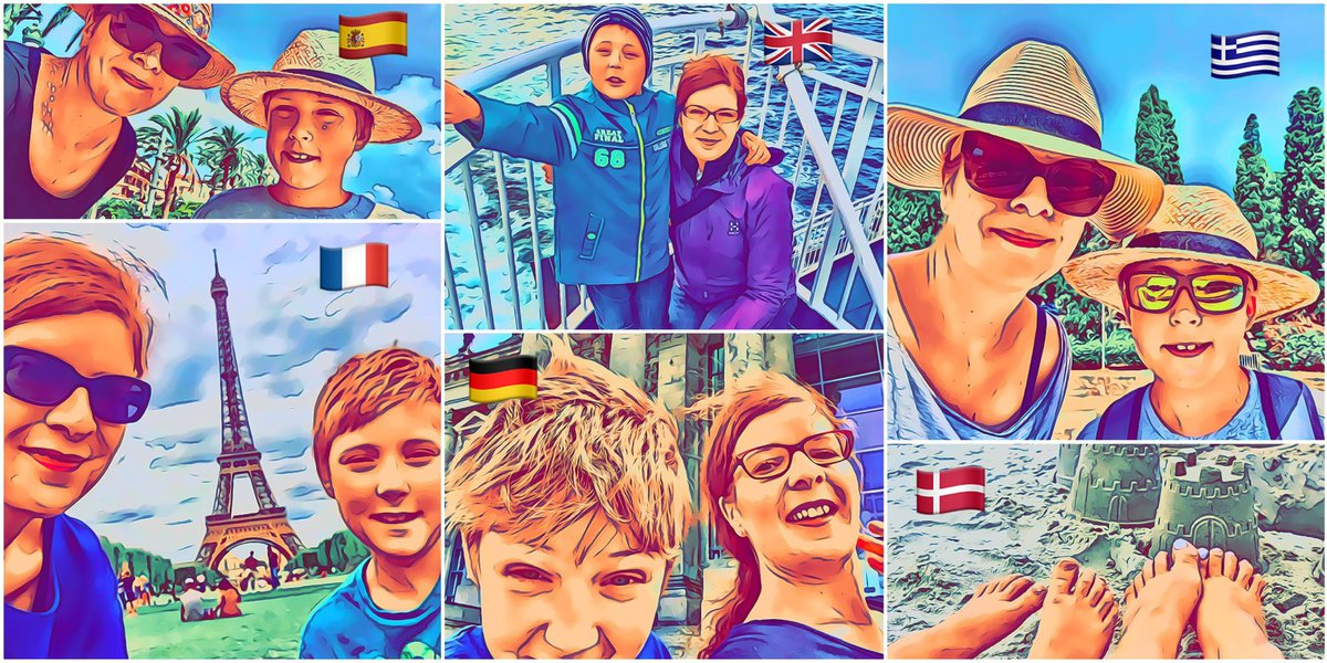 For the last 6 years I've taken my nephew on a summer holiday. This year we were meant to go to Norway for our next adventure. Obviously, holidays really aren't a priority right now, but I'm still sad we can't continue our little tradition in the usual way.