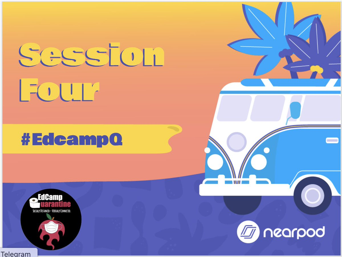It is almost time for Session 4! #EdcampQ
