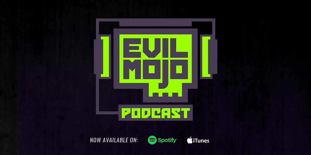 Episode 2 of the Evil Mojo Podcast is now available in both video and audio formats. Dont miss our episode with the voice of Corvus, @RiccoFajardo! YouTube: bit.ly/2Zc7VPw Spotify: spoti.fi/2BhkvVF iTunes: apple.co/3dBHesK