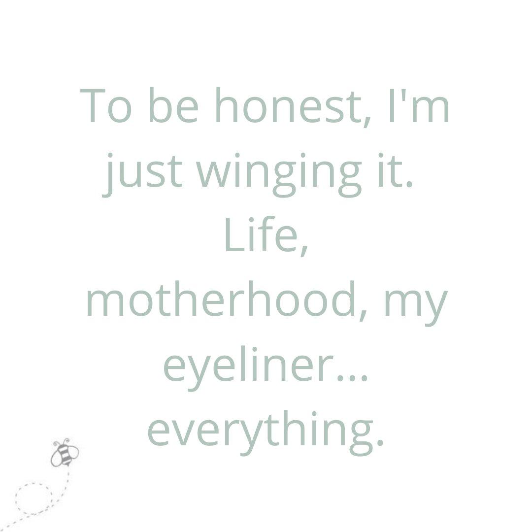 My eyeliner looks great though…  . . #ziggleuk #mother #motherhood #motherhoodmoments #instamom #Livethelittlethings #mum_hub #momswithcameras #mumanddad #mumlife #mumquote #dadquote #dadlife #qotd #parentingquote #inspirationalquote #quote #quoteoftheday #funnyquotepic.twitter.com/R94qw3rRfD