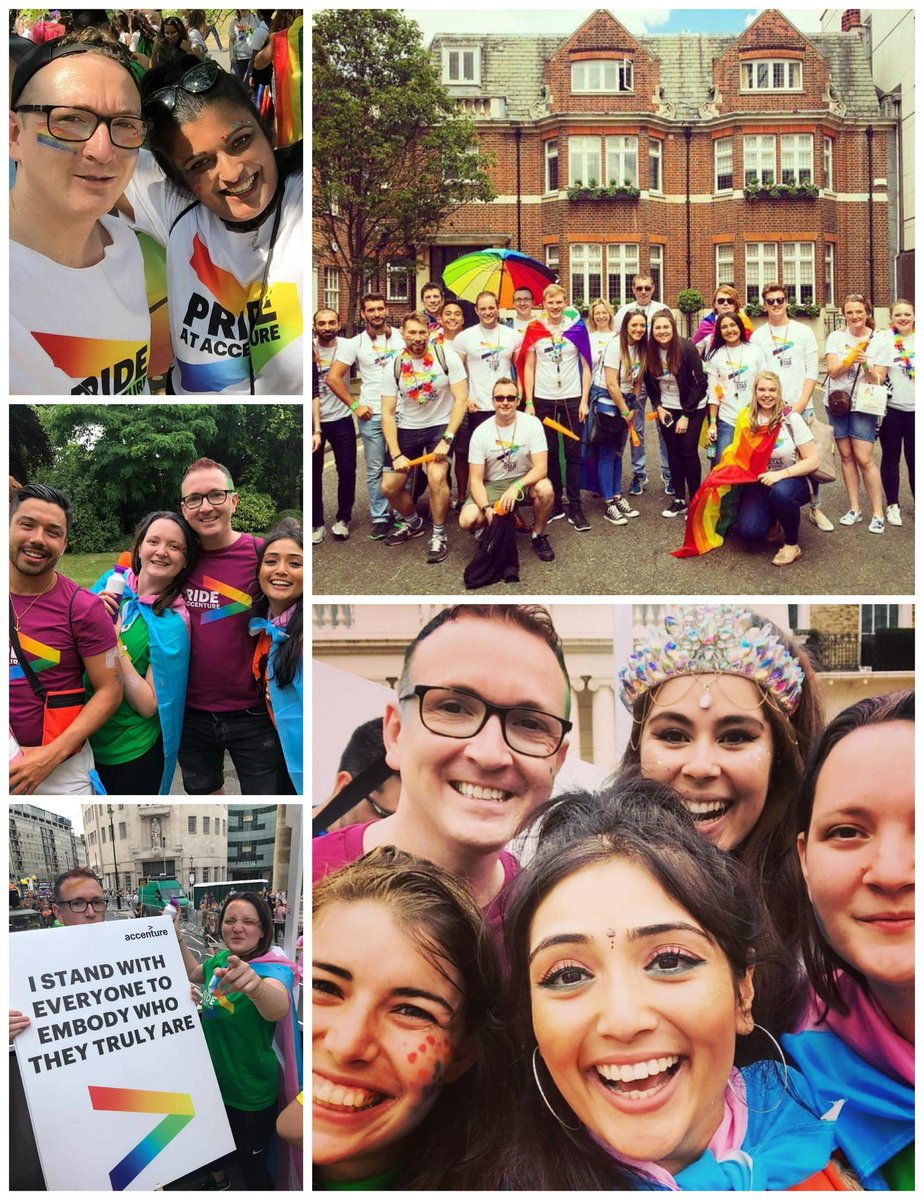 Happy #PRIDE2020 Lots of happy memories & grateful for the privilege of being able to celebrate openly. Forever thankful for all the allies who are unwavering in their commitment to equality & a kinder world. #LGBT #LondonPride #YouMeUsWe #throwback #PrideMonth #Pride https://t.co/Q374SBtahY