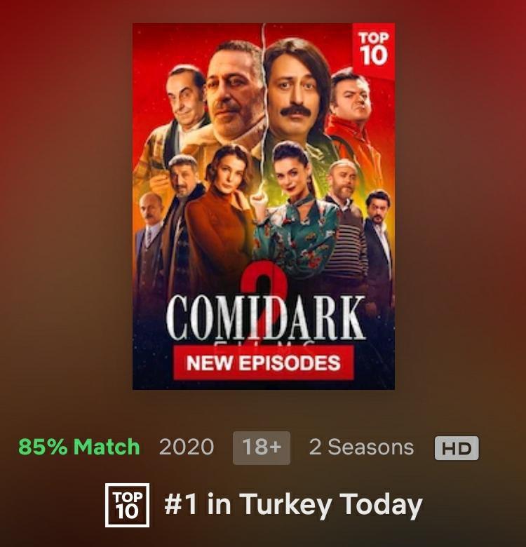 Netflix Türkiye nin haberi yoktur büyük ihtimalle @netflixturkiye tatlım bizim film sizde dün çıkmış olması lazım tweet atma mı dediler yoksa ? https://t.co/IOTzSUVWbO