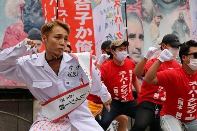 東京都知事選挙がカオス?表現の自由を許された人たちwww