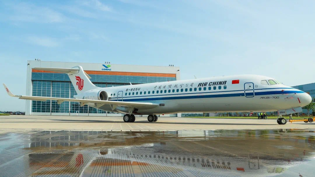 Air China will take delivery of its first COMAC ARJ21 on June 28th. https://t.co/ZSJySMGJoe