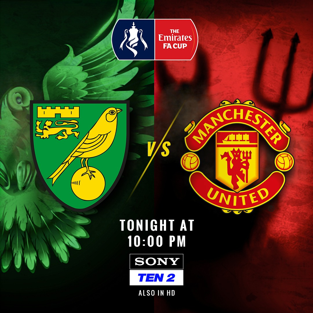 England's iconic cup competition is back!   Witness the return of @EmiratesFACup, as the Canaries @NorwichCityFC take on the Red devils from Manchester @ManUtd    Sony TEN 2  10:00 PM  #SonySports #FACup  #ManUTD #mufc #Norwich #NORvMUN #Football #Soccer<br>http://pic.twitter.com/e28rFlM8kg