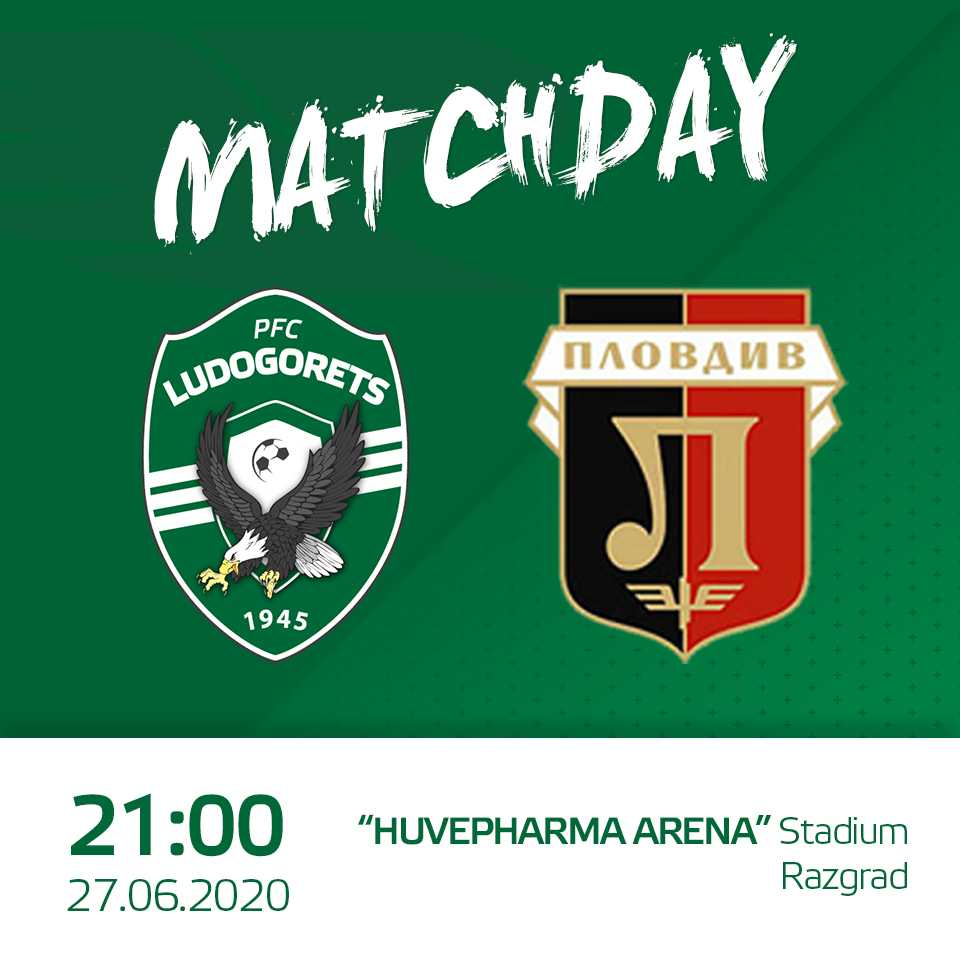 ⚽ Today at 21:00 🕘 Ludogorets vs Lokomotiv (Plovdiv) , Round of XXVIII, efbet League  #Ludogorets #Lokomotiv #LudogoretsLokomotiv https://t.co/5Mo3S0ofbI