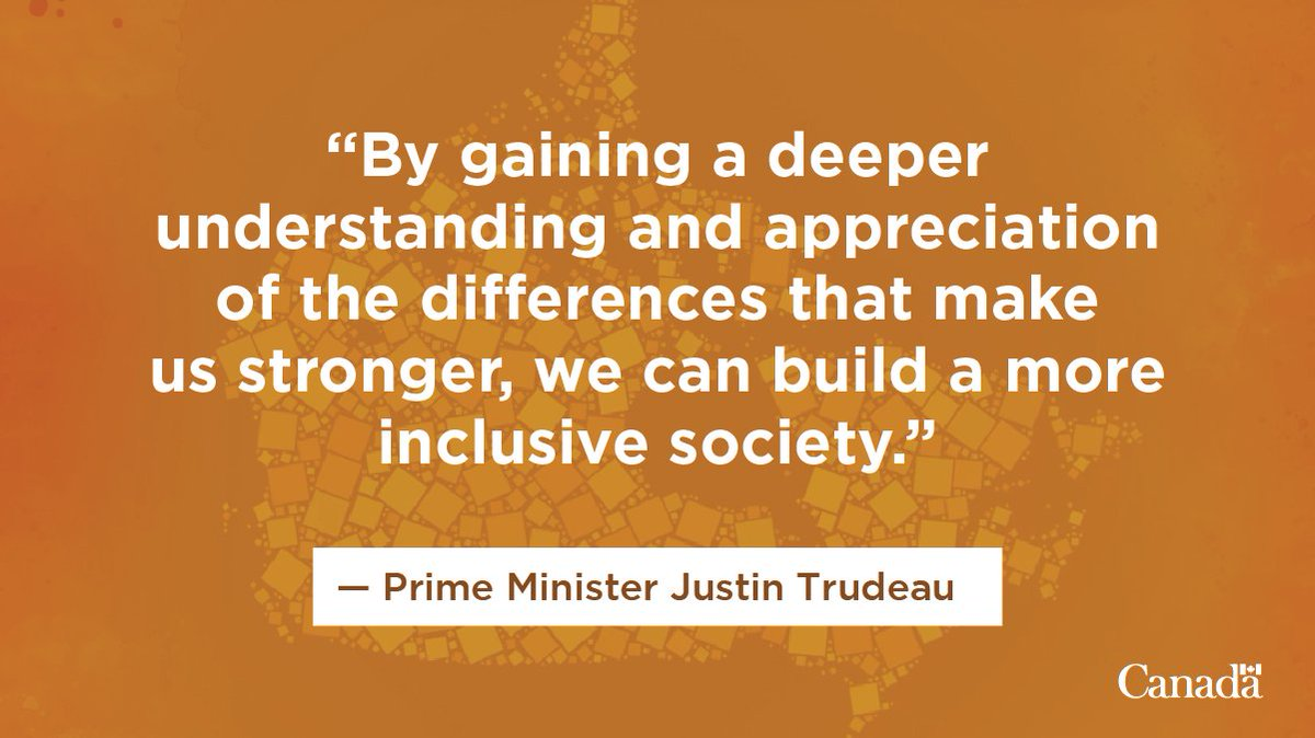 Today, we celebrate Canada's diversity and reaffirm our commitment to equity, inclusion, and mutual respect. Read Prime Minister Justin Trudeau's statement on Canadian Multiculturalism Day: https://t.co/zlFMoepJjU #MultiDay https://t.co/VtxJNFe598