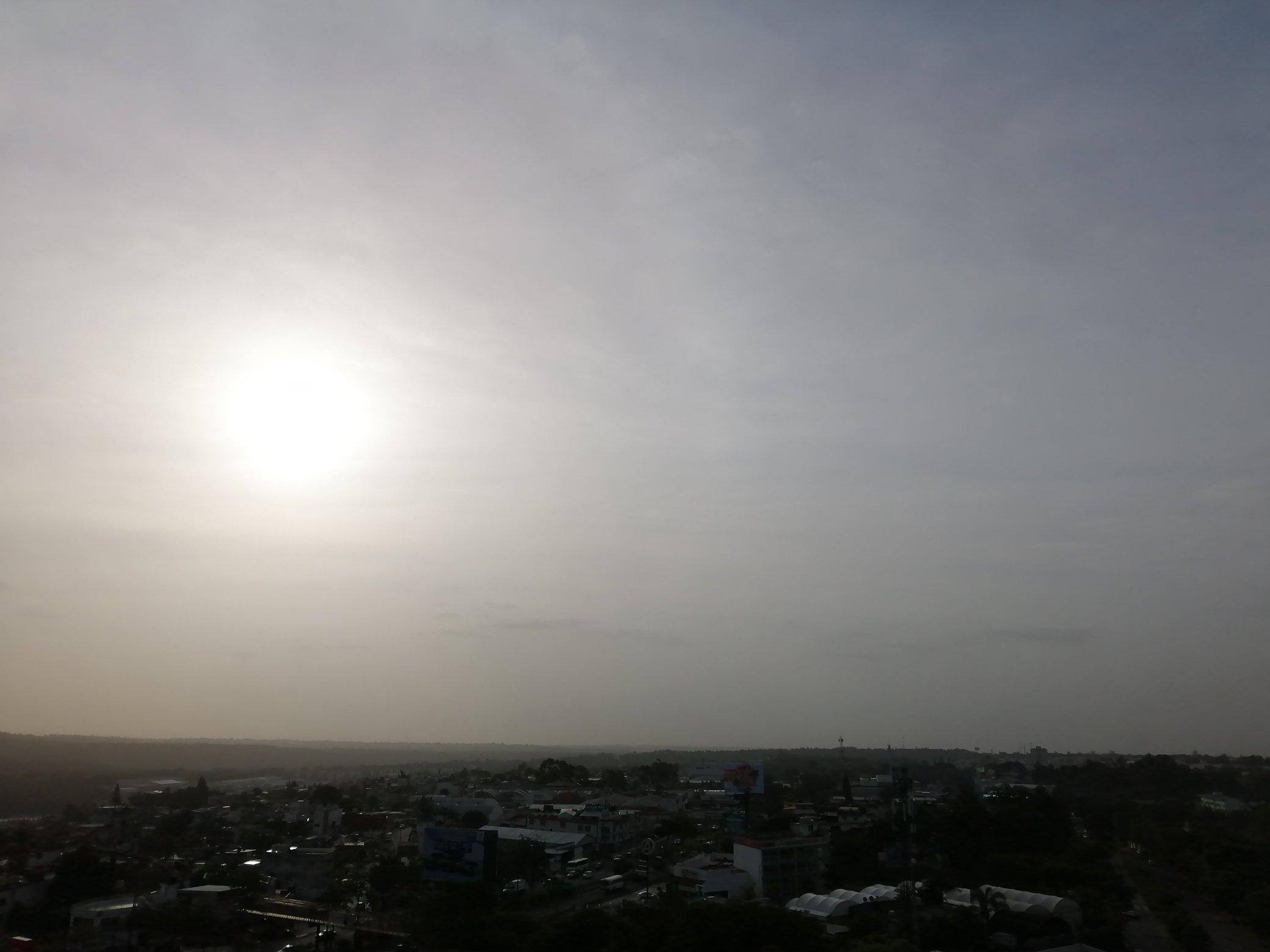 Clima en Veracruz será caluroso y habrá una temperatura máxima de 35 grados