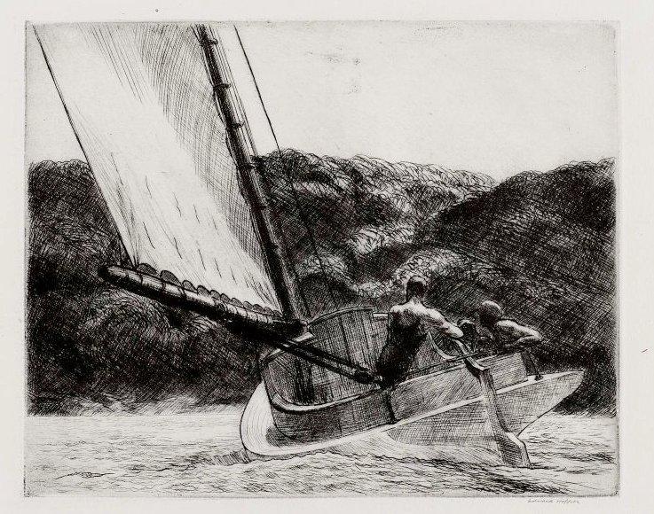 The Cat Boat, 1922 #newrealism #americanart<br>http://pic.twitter.com/PmGxr8eU3U