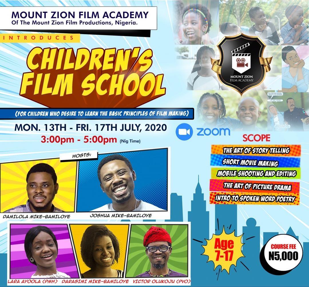 #gospelnews ~ @mzfminfo Set To Launch 'Children Film School'  @jay_mikee   https://t.co/amveMEQsKq  #christianfeeds #mountzion #gospelnews #MikeBamiloye #TheTrain #ChildrenFilmSchool #gospelfeeds #SaturdayVibes https://t.co/0doFzzCCip