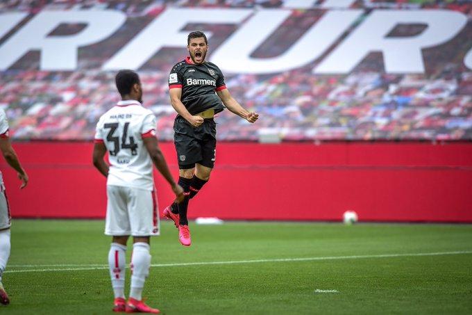 Volland porta subito avanti i suoi; Bayer-Mainz 1-0.