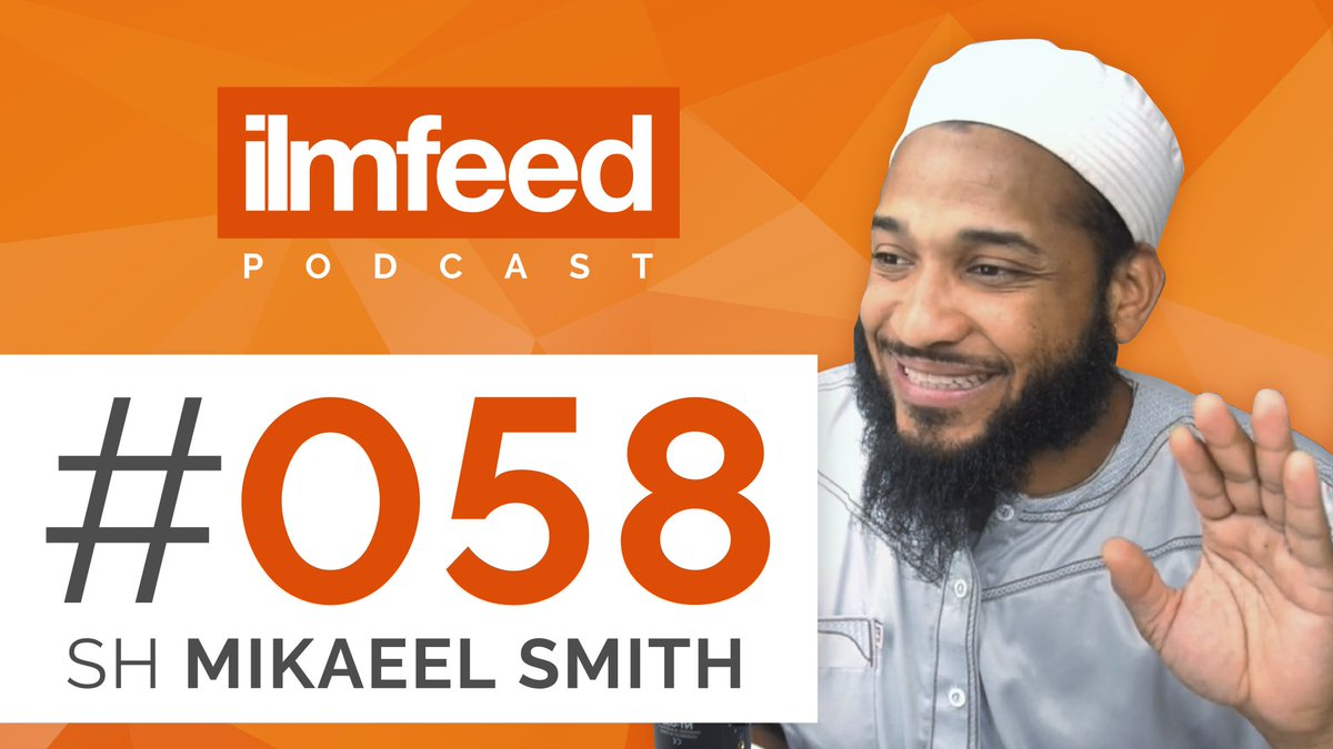 IlmFeed Podcast Episode 058 with Shaykh Mikaeel Smith out now! Topics: Being Optimistic in Difficult Times, How Malcolm X Led him to Islam, Overcoming Racism, Prejudice & Bias. Watch now: youtube.com/watch?v=1AXcSe…
