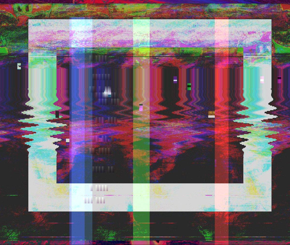 👾🆙 glitchart glitch audacity lsd curve freak arte art databending Origin img by @f_for_fuck4ever