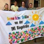 Image for the Tweet beginning: Unsere Menschen mit Herz grüßen