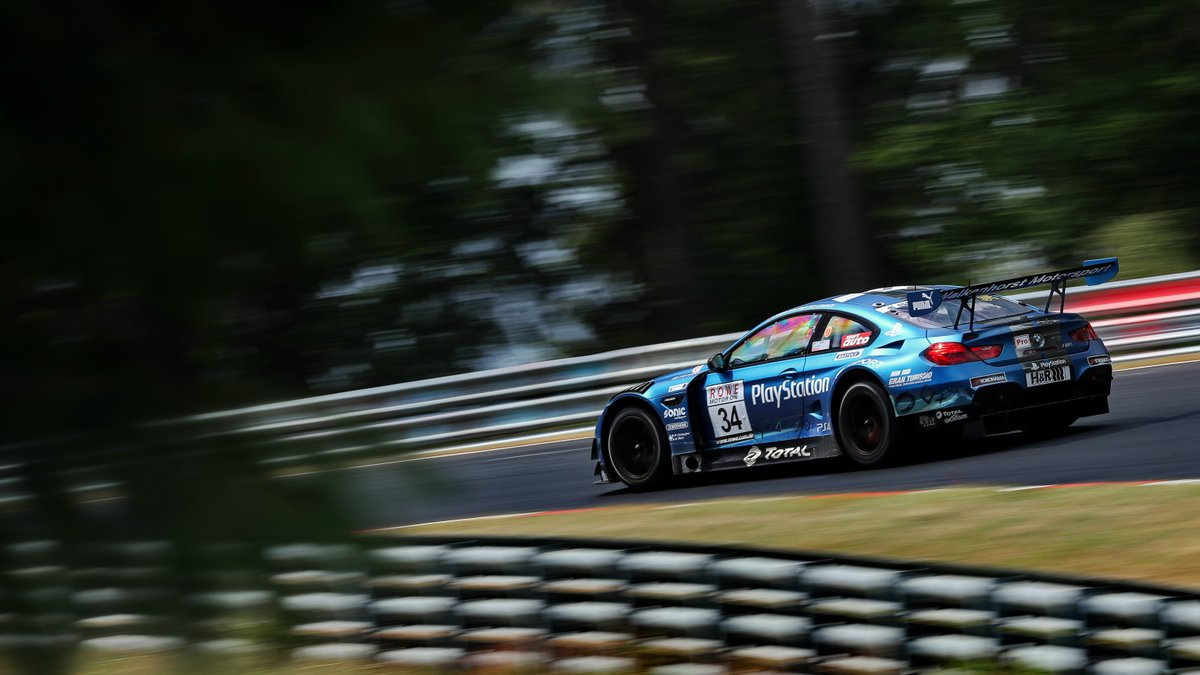 Victory for the Playstation BMW at the start of the season! 🏆 David Pittard & Mikkel Jensen win the #NuerburgringLS race in the M6 GT3 by @Walkenhorst_MS. ➡ P2: Mercedes-AMG (#6) - Assenheimer / Engel ➡ P3: Mercedes-AMG (#2) - Schiller / Buhk / Marciello  @vln_de #nuerburgring https://t.co/z4sIO2HaKQ