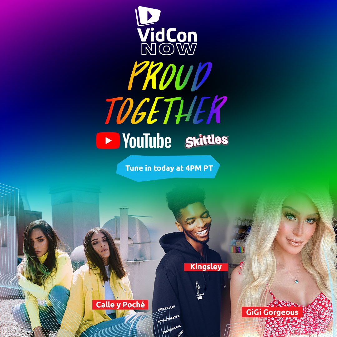 TODAY IS THE DAY 😍🏳️‍🌈 #VCNOWProudTogether https://t.co/H6ZbVKQK5w