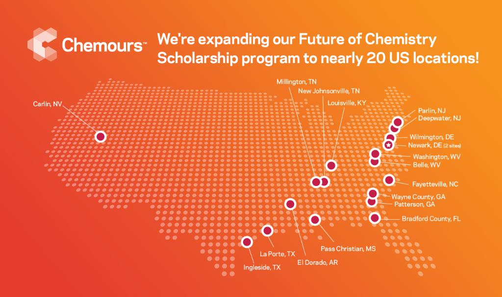 We're expanding our Future of Chemistry Scholarship program to nearly 20 US locations in support of students pursuing #STEM majors at Historically Black Colleges & Universities. Our commitment to providing access to STEM skills is unwavering. Read more: https://t.co/Fwjagt2HiF https://t.co/5bq9D2njSZ