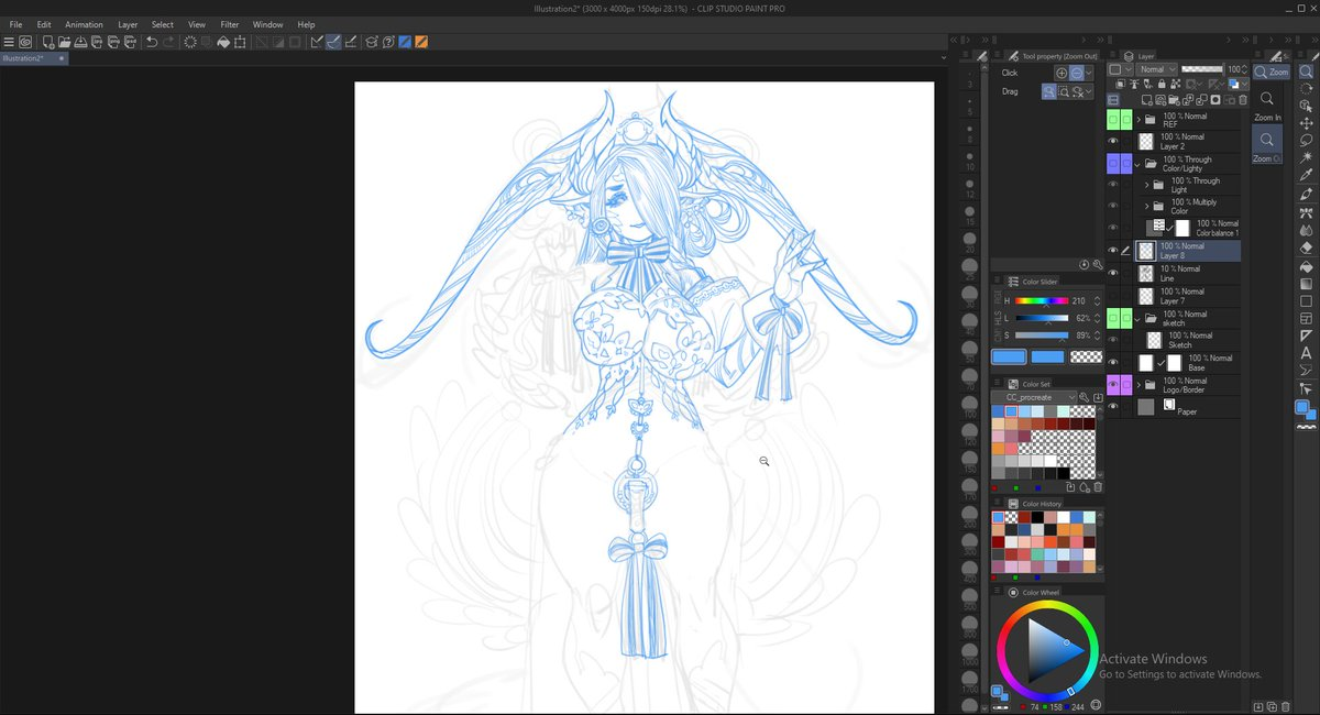 personal WIP - rework on last week rejected costume - may be i will try to do some adopt