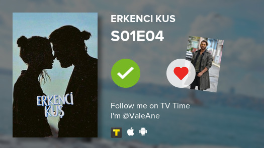 I just watched S01E04Tut ElimdenErkenci Kus and it was  #erkenciku  #tvtime https://tvtime.com/r/1p54B pic.twitter.com/Nt1yOKRZYy  by ValeAne