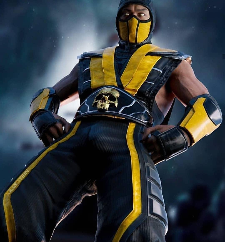 Scorpion. #MK11 <br>http://pic.twitter.com/8f4ZfnXrbX
