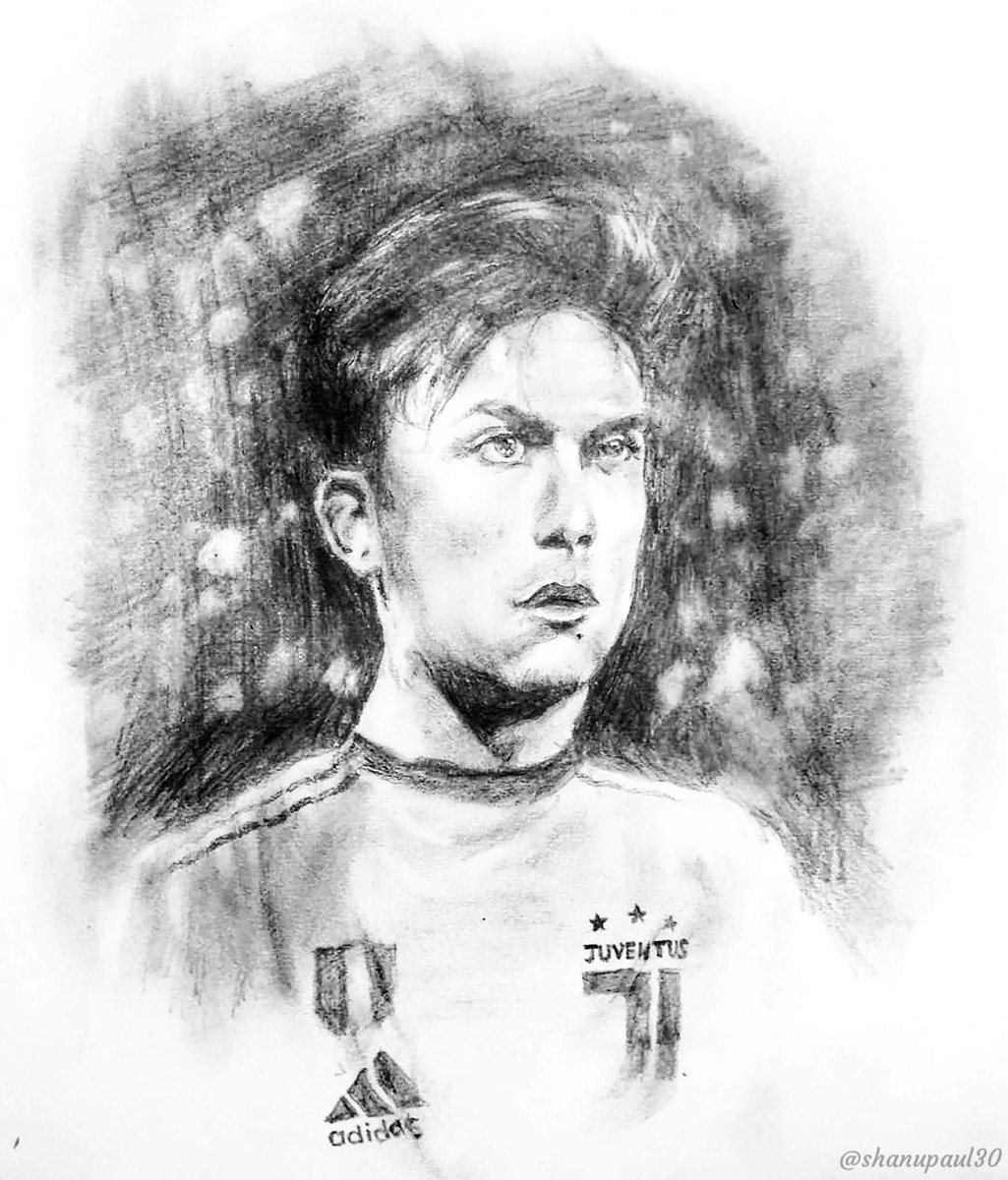 My attempted sketch is of another favourite player of mine, who always shows his passion. The amazing @PauDybala_JR  of #Juventus  Hope you like   #ContestTime #FanArt #SerieAonSony #SonySports @SonySportsIndia   Join:- @viggi_19  @ShubhankarBrah3 @acidkidrock  @emNishant<br>http://pic.twitter.com/FzQdlhnROF