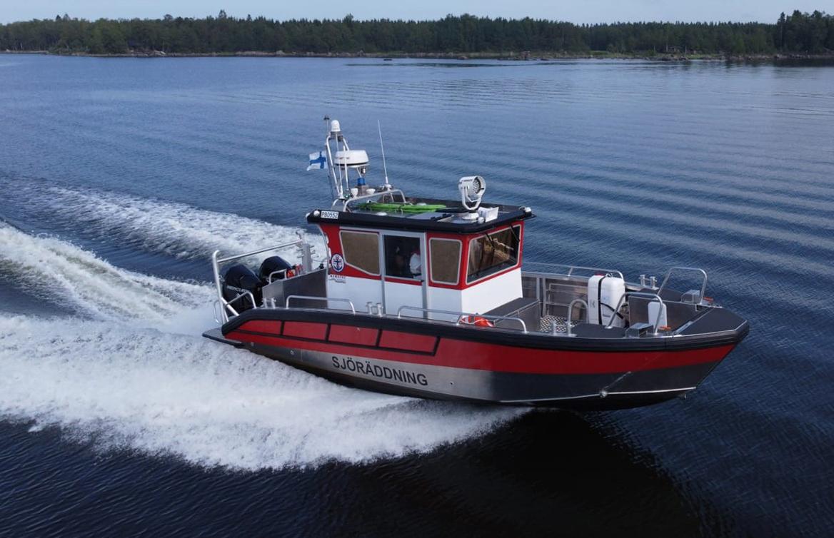 Tänään kastettiin Raumalla uusi pelastusvene, joka sai nimekseen Merihelppi. Rauman Meripelastusyhdistyksen käyttöön tuleva alus aloittaa päivystyksen heinäkuun lopulla. https://t.co/p6UJF58ebd #meripelastus #pelastusvene #sar https://t.co/P1iOaEUnWB