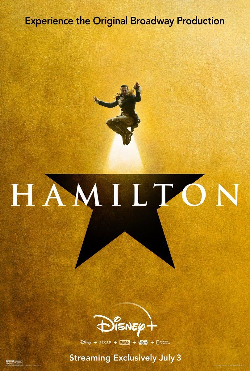 6 days to go #Hamilfilm on #DisneyPlus #Hamilton https://t.co/XxvPlwcL0o