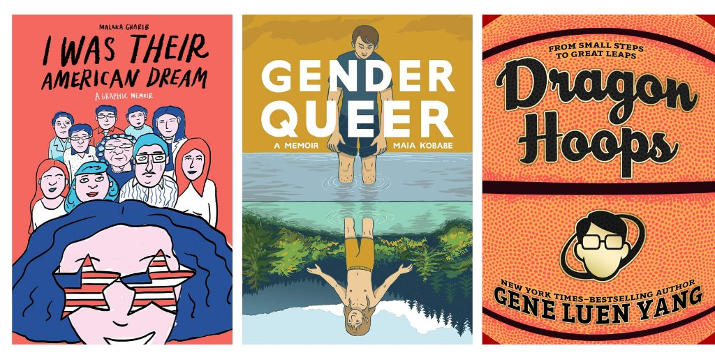 7 Graphic Novels That Offer Powerful Mirrors & Windows for Teens | Summer Reading 2020 ow.ly/Ou4P30qU23s #summerreading
