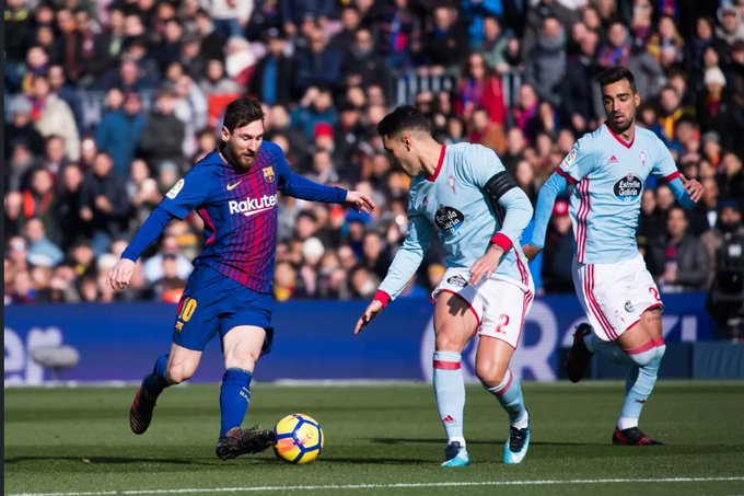 Xem lại Celta Vigo vs Barcelona, La Liga – 27/06/2020