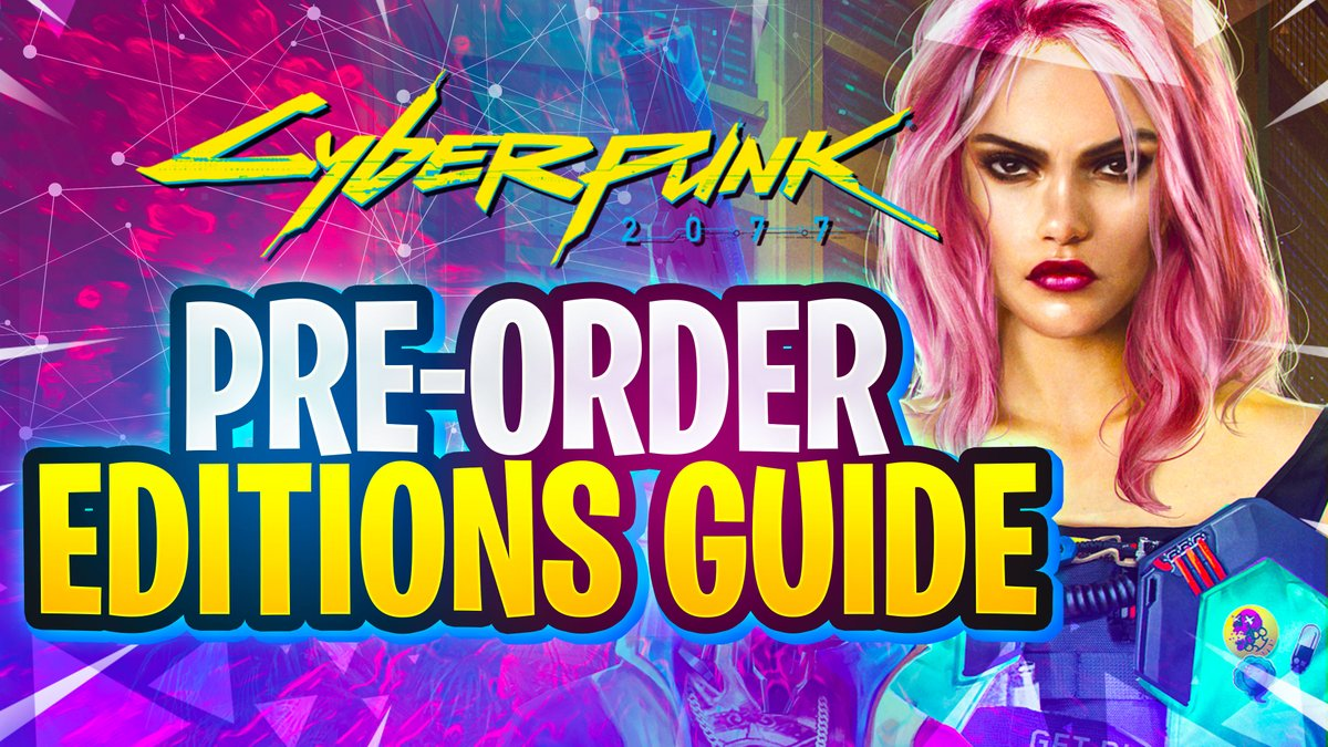 CYBERPUNK 2077 Pre-Order Guide - Standard and Collectors Edition youtu.be/s6pKCE6oej0 via @YouTube #Cyberpunk2077
