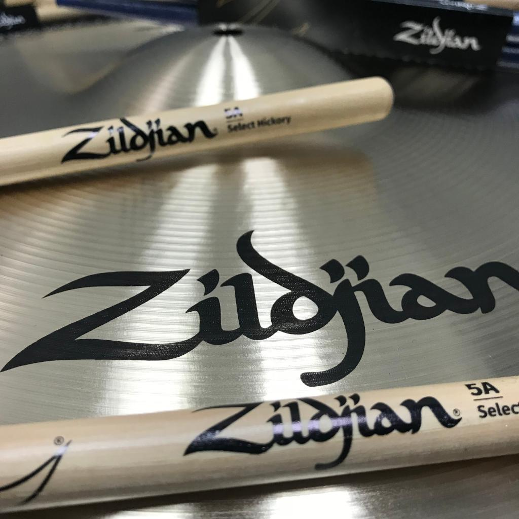 We offer a wide selection of drumsticks: from standard size models  to unique Artist Series models!  With so many different options, there is bound to be a stick for you!  Try a pair of Zildjian Sticks today: https://t.co/lLguMcphfe  #ZildjianSticks https://t.co/STWpy5TC5Q