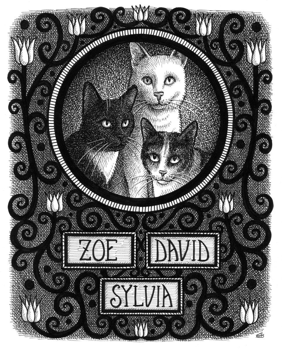 Zoe, David, and Sylvia.