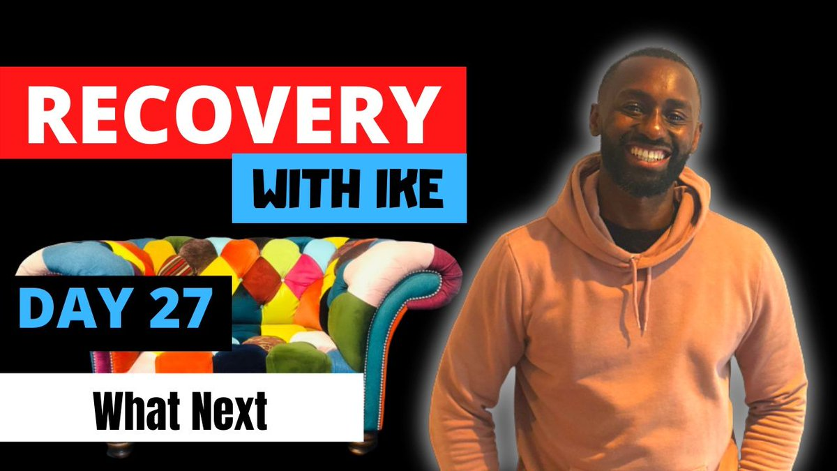 Day 27 - What Next • #RecoveryWithIke.  #ChildOfGod #ChildOfGodTeam #ChildOfGodMovement #Recovery #Drugs #Alcohol #Gambling #StepUp #ThankYou #Blessed #Grateful #GodBless #GodsWill #Addiction #MyStory #MyJourney #Support #ReachOut #GetHelp #GetInTouch  https://t.co/P4cDNzeE9U https://t.co/Vm8mWf5z5E
