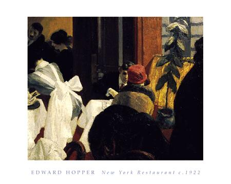 New York Restaurant, 1922 #hopper #newrealism <br>http://pic.twitter.com/sLquyWlGs7
