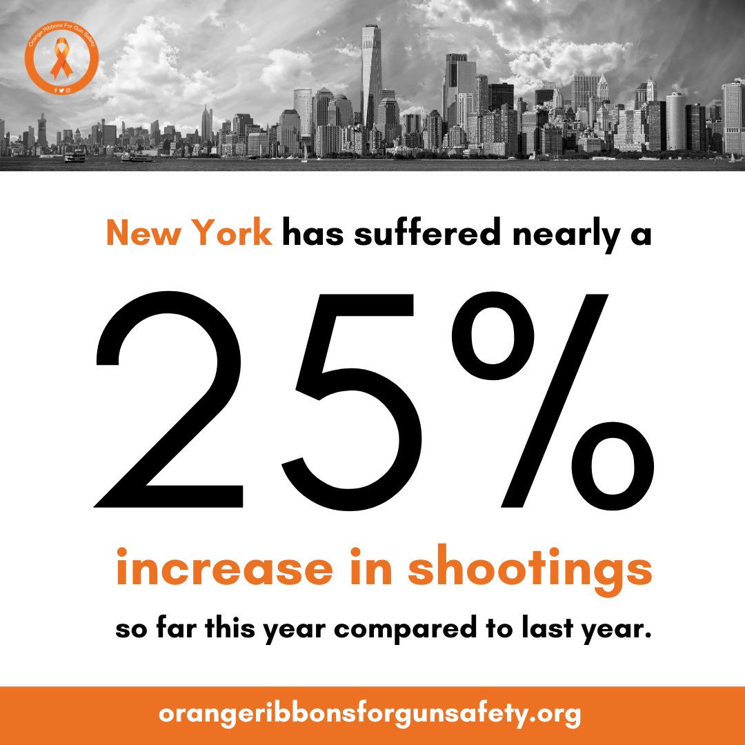 Gun violence is a public health menace, too, and it's escaped our attention during the Coronavirus pandemic. Read more at https://t.co/fV9ibypdum.  #OrangeRibbonsForGunSafety https://t.co/m62Sj0jhVe