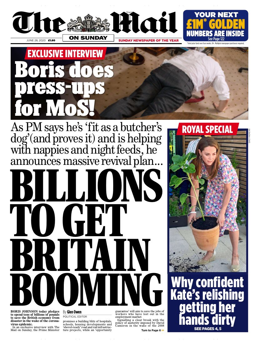 Boris can change nappies, and Kate can move a flowerpot. It's no wonder they are our leaders.