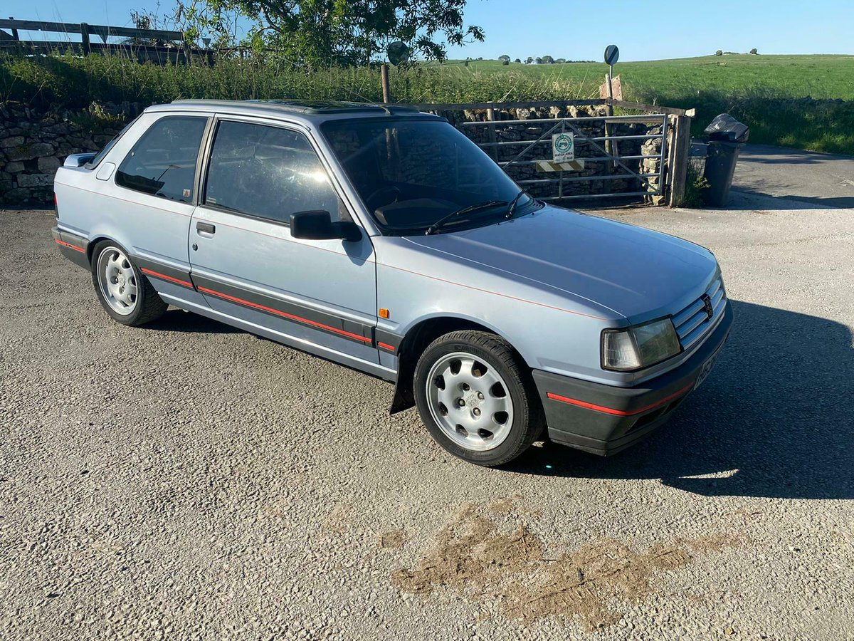 Project Cars Uk On Twitter Peugeot 309 Gti Barnfind Project See Ebay Ad Https T Co Eqj5riszx1 Peugeot