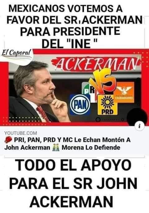 @MalthusGamba @FelipeCalderon @INEMexico #TodosSomosAckerman #TodosSomosAckerman https://t.co/uCyxbP7iTs