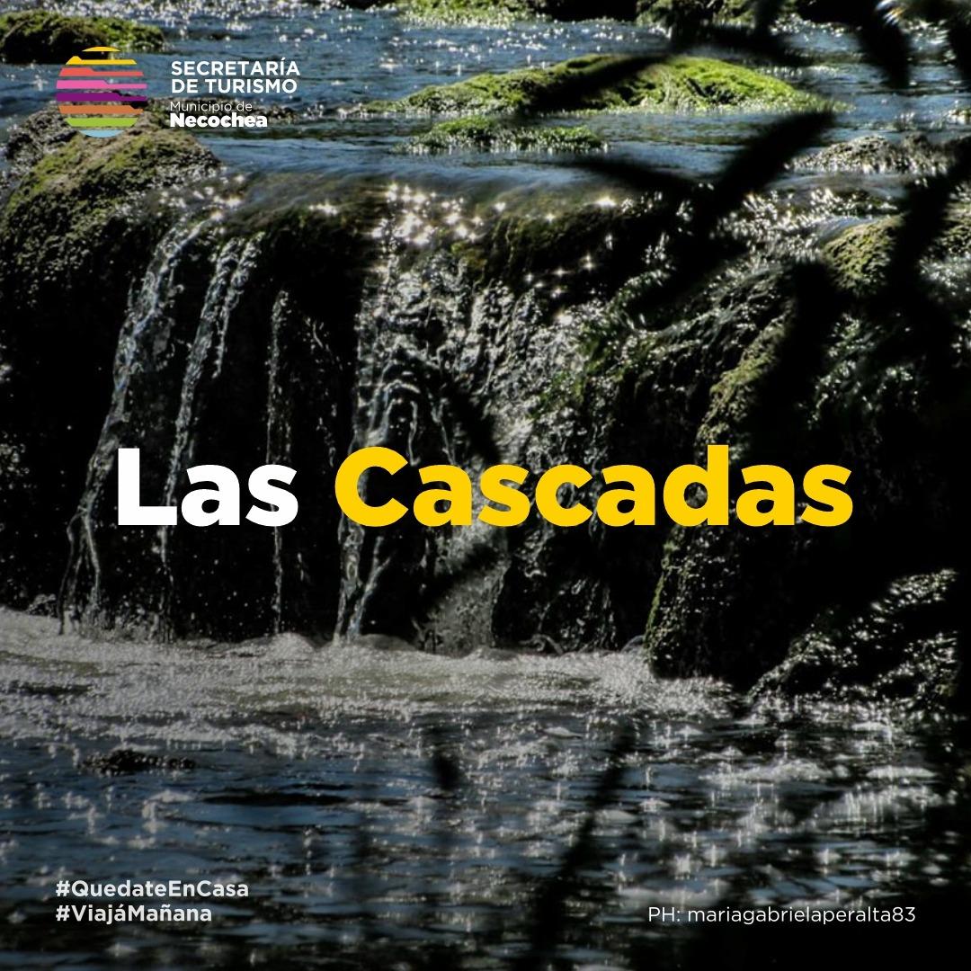 #NecocheaDesdeTuCasa 🏠   ¿Conocés El Paraje Las Cascadas?  #NecocheaTeEspera #Cascadas #RioQuequen #Naturaleza🌅 #Turismo #Paz #Kayak🌄 #ViajaMañana #EnSintoniaConVos https://t.co/yNPwHIt9mY