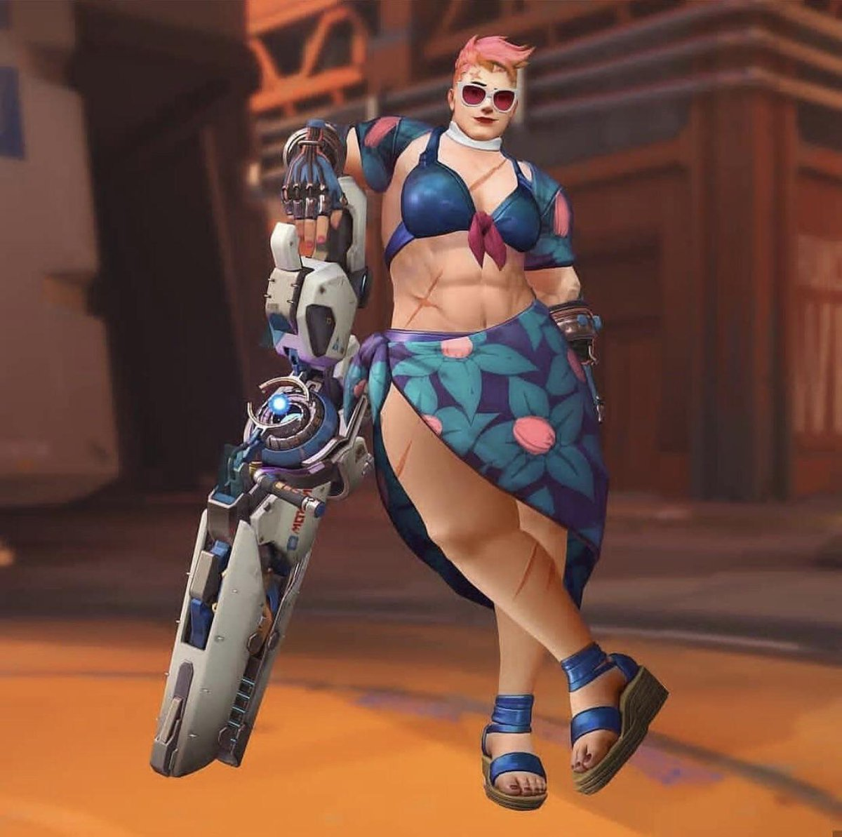 The very idea that gamers and weebs apparently hate bigger or just  muscular girls is so laughable to me considering other depictions right down to fanart <br>http://pic.twitter.com/bVlMSKFUNC